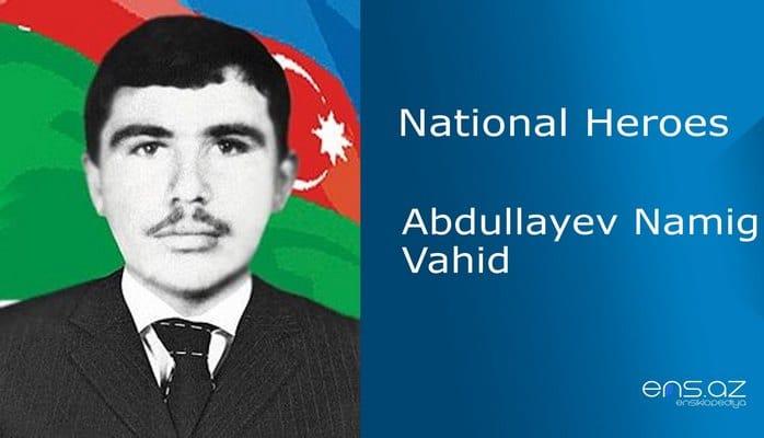 Abdullayev Namig Vahid