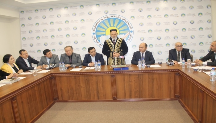 Ученый БГУ Рамиз Аскер избран почетным членом Союза писателей Узбекистана