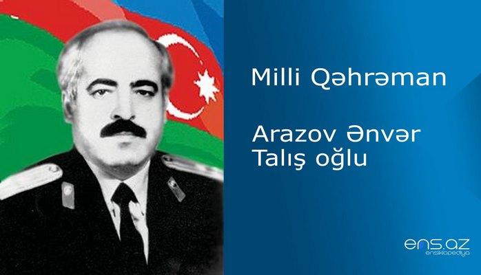 Ənvər Arazov Talış oğlu