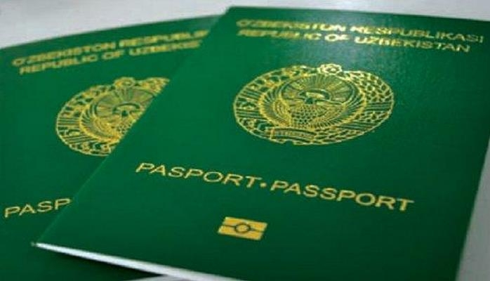 Узбекские паспорта на 82 месте в мире