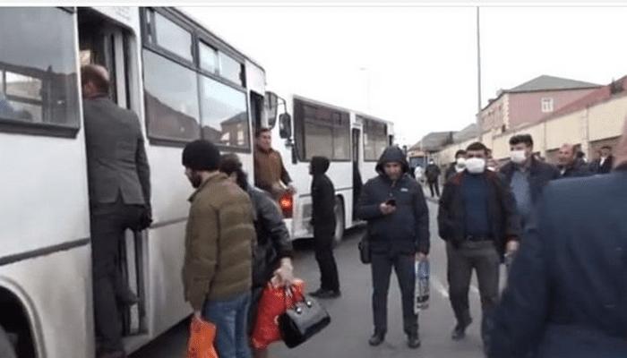 Avtobuslarda karantin qaydalarına əməl olunurmu?