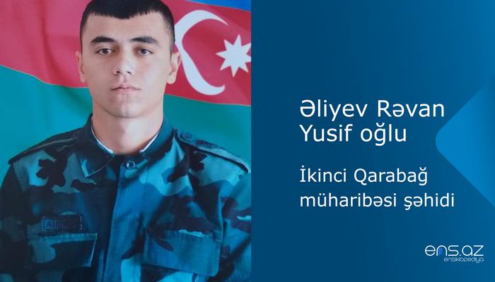 Əliyev Rəvan Yusif oğlu