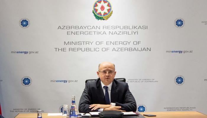 Состоялась видеоконференция с участием сопредседателей азербайджано-казахстанской Межправительственной комиссии