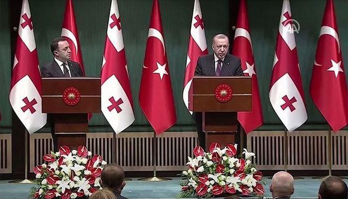 Ərdoğan Azərbaycan - Gürcüstan - Ermənistan əməkdaşlığından danışdı