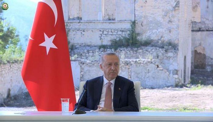Ərdoğan Azərbaycanla Türkiyənin 2023-cü il üçün hədəfindən DANIŞDI