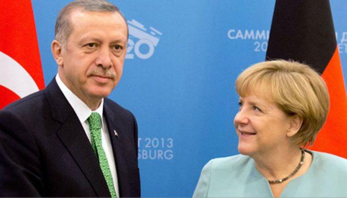 Эрдоган и Меркель провели телефонный разговор
