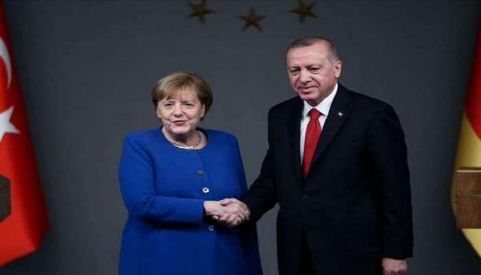 Ərdoğan və Merkel arasında telefon danışığı olub