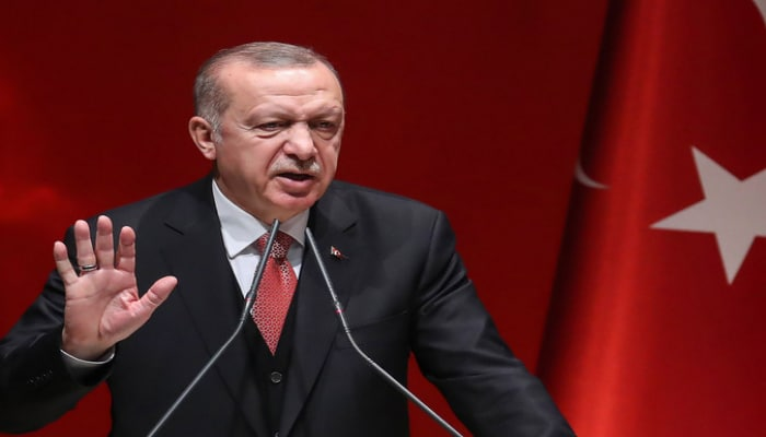 """Ərdoğan: """"Zalımların Qarabağda törətdiyi qətliamlar gözümüzün önündədir"""""""