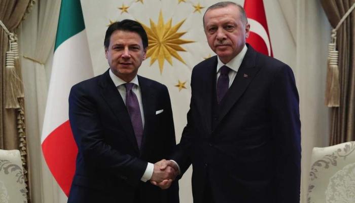 Эрдоган провел переговоры с премьером Италии