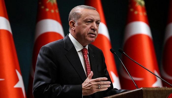 Erdoğan'dan, dikkat çeken paylaşım: Biz size büyük geliriz
