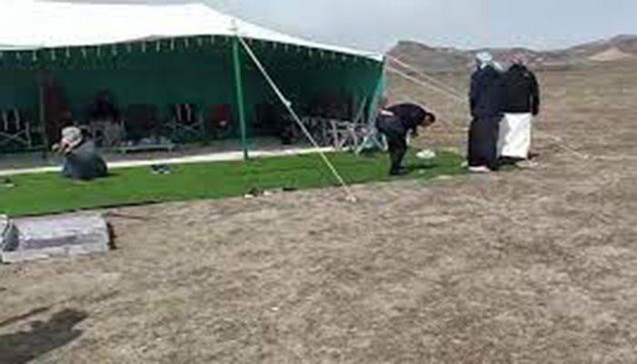 Ərəblərin Qaxdakı çadırları söküldü