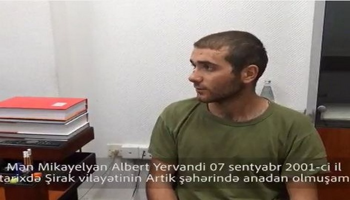 """Erməni əsirdən şok etiraf: """"Kürd əsilli muzdlulardan ibarət 1500 nəfər var idi"""""""