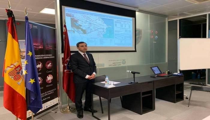 Ermənistanın Azərbaycana qarşı hərbi təxribatı İspaniyanın Beynəlxalq və Strateji Araşdırmalar Fondunda pislənilib