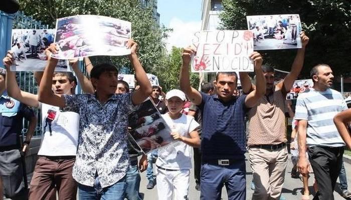 Ermənistanın yezidi icması erməni deputatın irqçi çağırışına etiraz edib