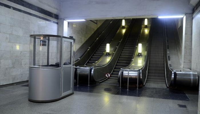 На одной из станций бакинского метро в эксплуатацию введен эскалатор