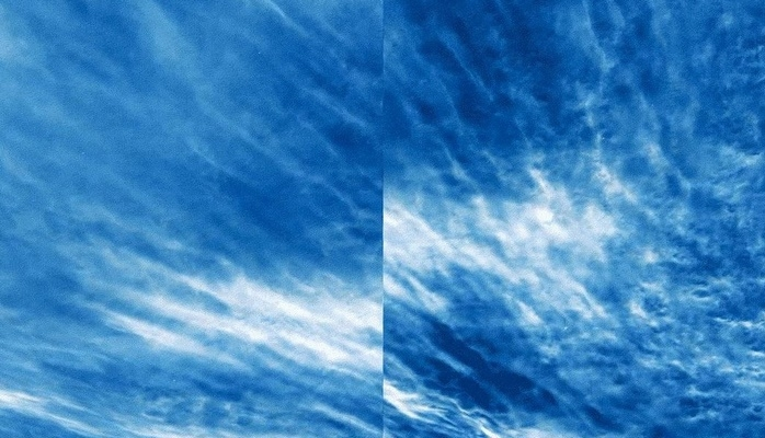 NASA засняло редкие светящиеся серебристые облака