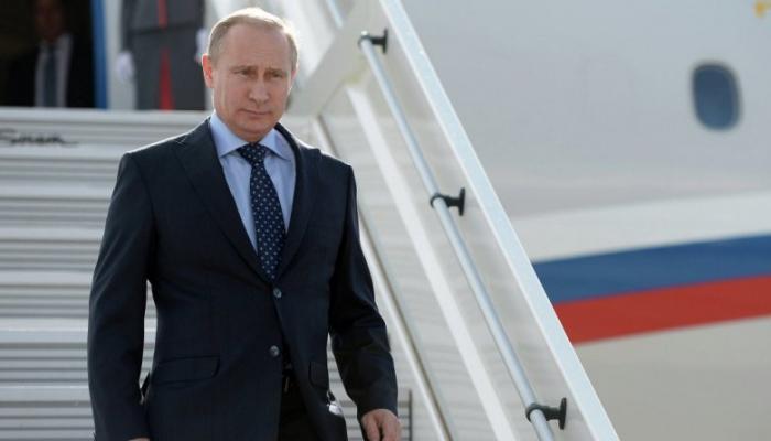 Putin Çinə getdi