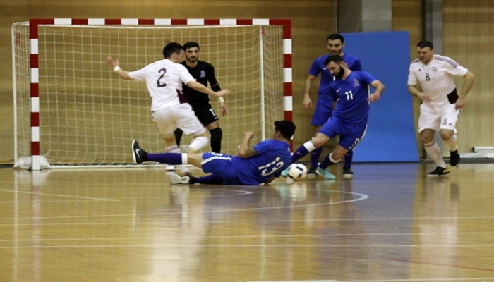 Azerbaijani futsal players draw 2-2 with Latvia - AZERTAC - Azerbaijan State News Agency