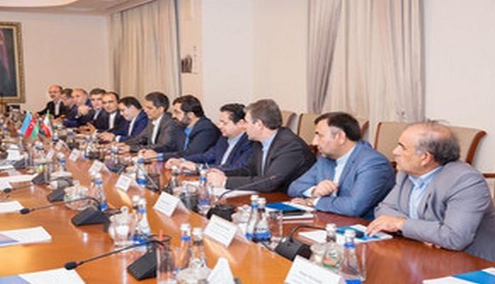 Глава Азербайджанских железных дорог встретился с иранской делегацией