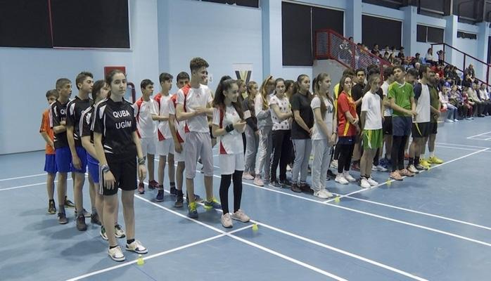 Badminton üzrə respublika çempionatının açılışı olub