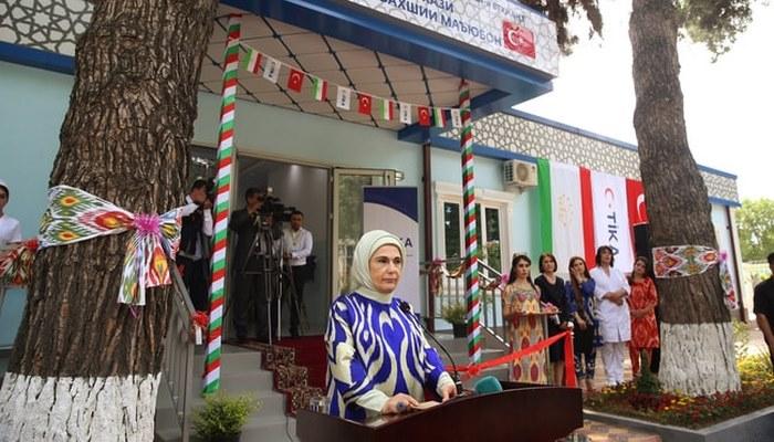 Emine Erdoğan Engelli ve Rehabilitasyon Merkezi'nin açılışını yaptı!