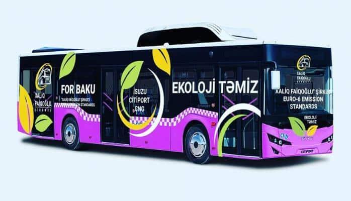 Bakıya AVRO-6 standartlı CNG avtobusu gətirildi, daha 120 ədəd gətiriləcək