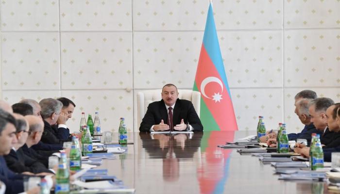 Президент Ильхам Алиев: В центре нашей политики стоит гражданин Азербайджана, и мы делаем все возможное для его благосостояния