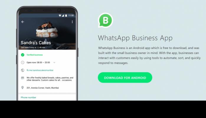 """""""WhatsApp Business"""" messenceri istifadəyə verilib"""