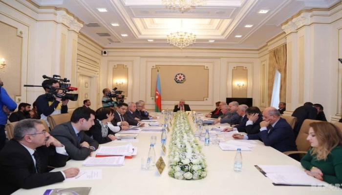 Началось заседание ЦИК Азербайджана