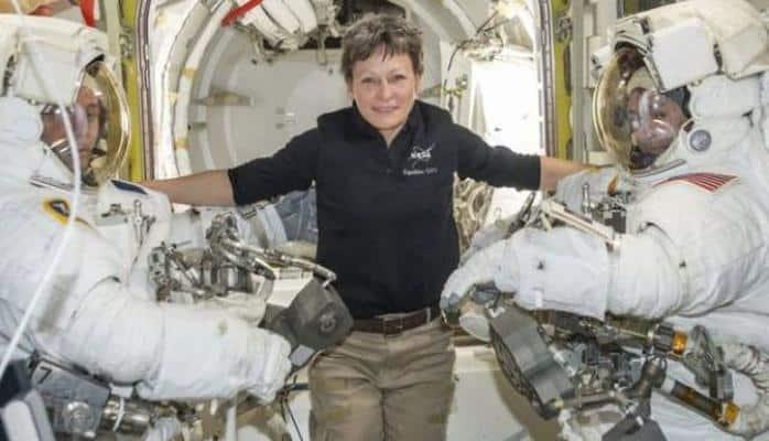 Astronavt qadın Peqqi Vitson 534 gün Yerdən kənarda keçirdi və rekorda imza atdı
