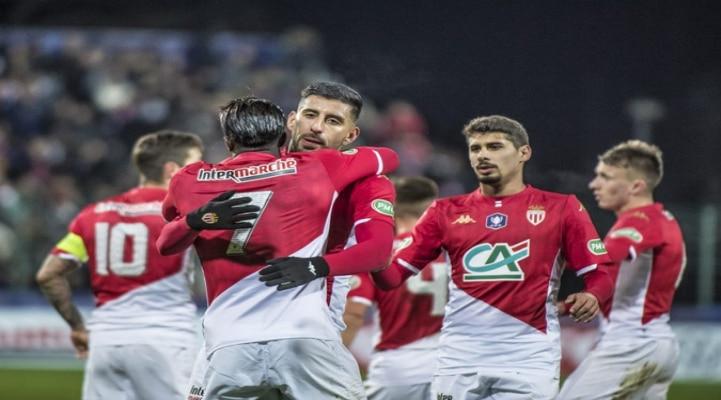 'Монако' вышел в 1/8 финала Кубка Франции