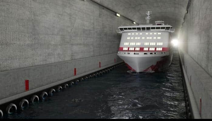Dünyada ilk gəmi tuneli tikiləcək