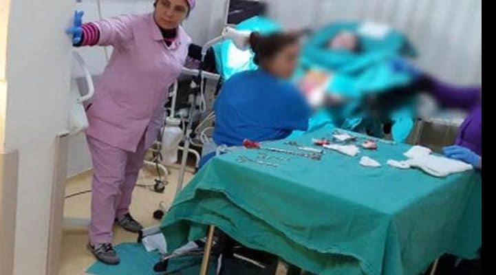 Женщина в Турции родила во время землетрясения