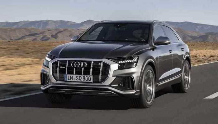 Audi представила флагманский спортивный кроссовер SQ8