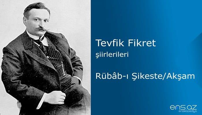 Tevfik Fikret - Rübabı Şikeste/Akşam