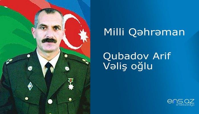 Arif Qubadov Vəliş oğlu