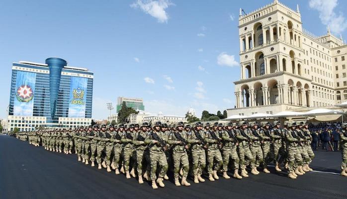 В Баку будет проведен парад.
