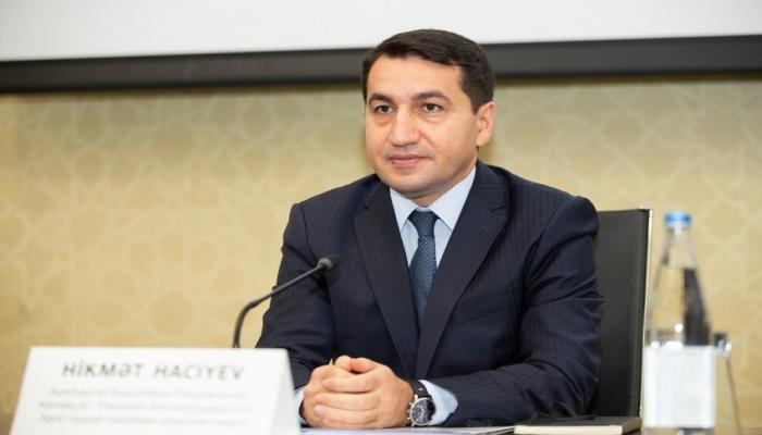 """Hikmət Hacıyev: """"Azərbaycan və Türkiyə daim bir-birini dəstəkləyir"""""""