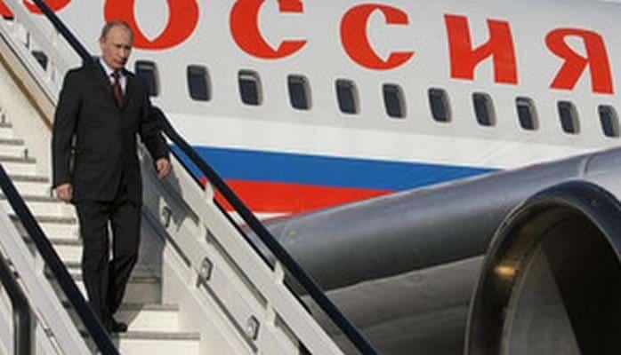 Владимир Путин прибыл с рабочим визитом в Азербайджан