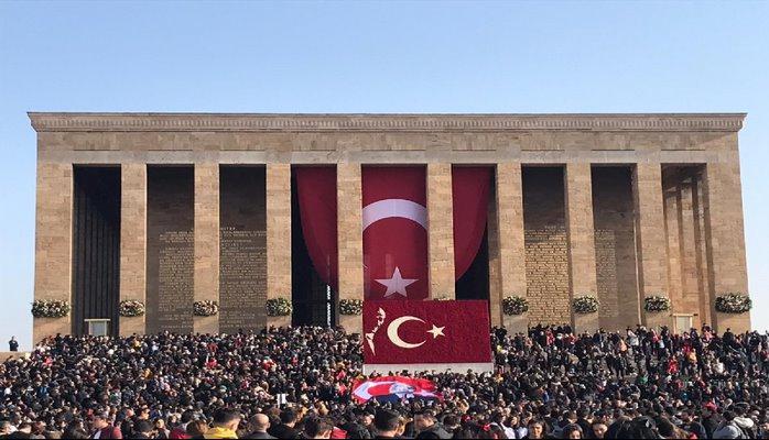 Atatürk'ün ebedi istirahatgâhı: Anıtkabir