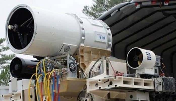 ABŞ Hərbi Hava Qüvvələri lazer silahını sınaqdan keçirib