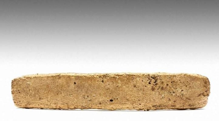 39 il əvvəl Meksikada tapılan nəhəng qızıl külçəsi Atstek xəzinəsi olduğu ortaya çıxdı