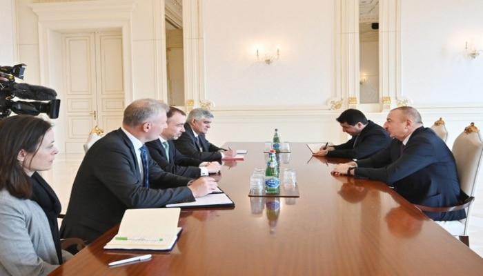 Президент Азербайджана принял спецпредставителя ЕС