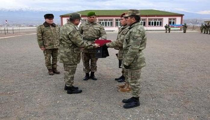 В Нахчыване завершился курс снайперской подготовки