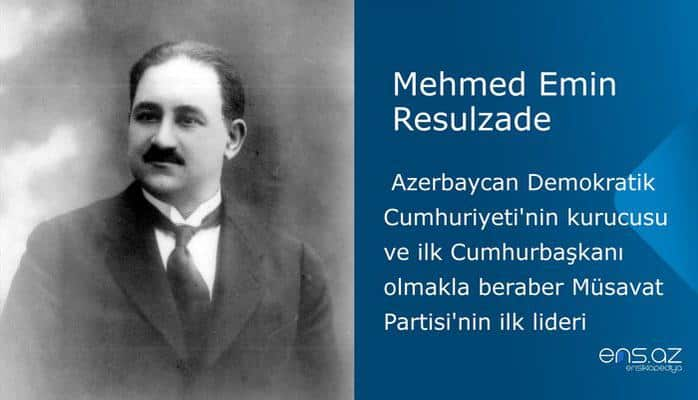 Mehmed Emin Resulzade