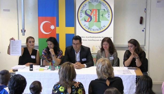 Stokholmda Azərbaycan tədris kursları açılıb