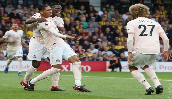 «Манчестер Юнайтед» нанес «Уотфорду» первое поражение в нынешнем сезоне чемпионата Англии