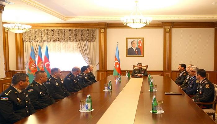 Состоялась церемония вручения высших воинских званий