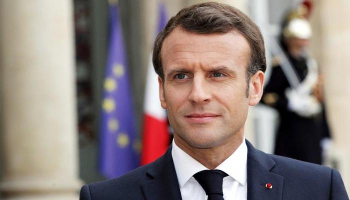 Президент Франции Эмманюэль Макрон поздравил Президента Ильхама Алиева