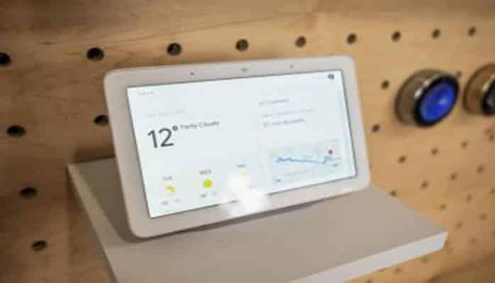 Компания Google представила смарт-дисплей Home Hub